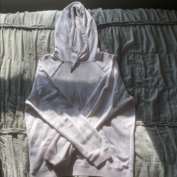 Baby Pink Nike hoodie
